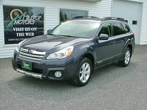 2014 Subaru Outback for sale at HILLTOP MOTORS INC in Caribou ME