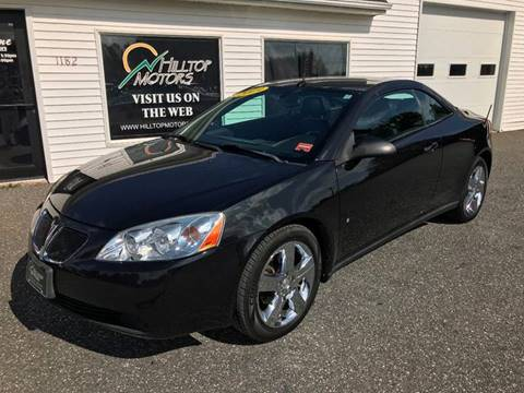 2009 Pontiac G6 for sale at HILLTOP MOTORS INC in Caribou ME