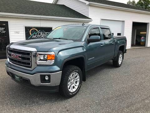 2014 GMC Sierra 1500 for sale at HILLTOP MOTORS INC in Caribou ME