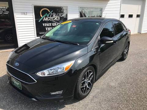 2015 Ford Focus for sale at HILLTOP MOTORS INC in Caribou ME