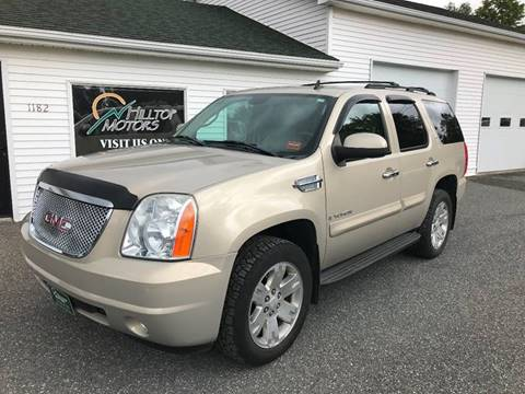 2008 GMC Yukon for sale at HILLTOP MOTORS INC in Caribou ME