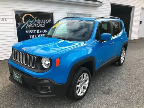 2015 Jeep Renegade for sale at HILLTOP MOTORS INC in Caribou ME