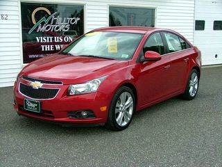 2012 Chevrolet Cruze for sale at HILLTOP MOTORS INC in Caribou ME