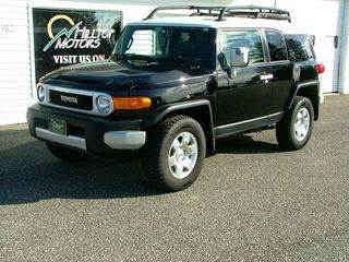 2007 Toyota FJ Cruiser for sale at HILLTOP MOTORS INC in Caribou ME