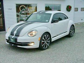 2012 Volkswagen Beetle for sale at HILLTOP MOTORS INC in Caribou ME
