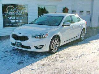 2014 Kia Cadenza for sale at HILLTOP MOTORS INC in Caribou ME