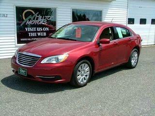 2014 Chrysler 200 for sale at HILLTOP MOTORS INC in Caribou ME