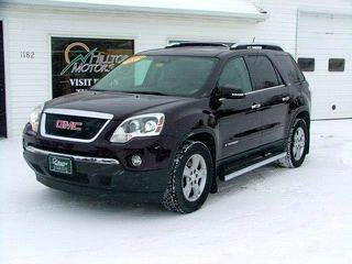 2008 GMC Acadia for sale at HILLTOP MOTORS INC in Caribou ME