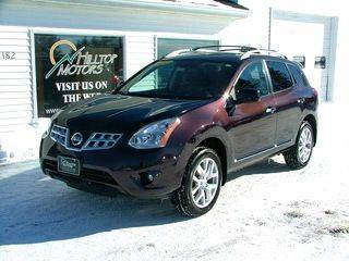 2011 Nissan Rogue for sale at HILLTOP MOTORS INC in Caribou ME