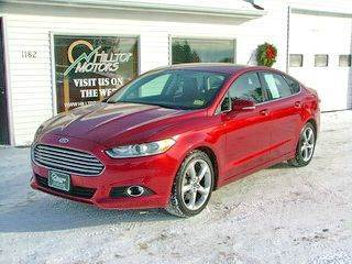 2013 Ford Fusion for sale at HILLTOP MOTORS INC in Caribou ME