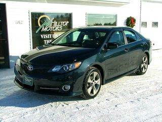 2012 Toyota Camry for sale at HILLTOP MOTORS INC in Caribou ME