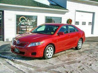 2011 Toyota Camry for sale at HILLTOP MOTORS INC in Caribou ME