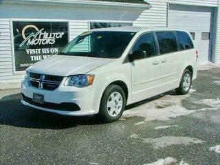 2012 Dodge Grand Caravan for sale at HILLTOP MOTORS INC in Caribou ME