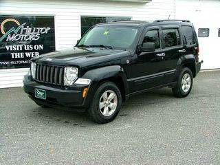 2009 Jeep Liberty for sale at HILLTOP MOTORS INC in Caribou ME