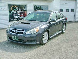 2010 Subaru Legacy for sale at HILLTOP MOTORS INC in Caribou ME