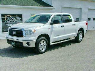 2012 Toyota Tundra for sale at HILLTOP MOTORS INC in Caribou ME