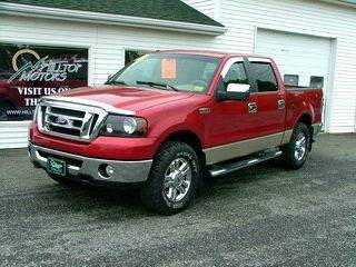 2008 Ford F-150 for sale at HILLTOP MOTORS INC in Caribou ME
