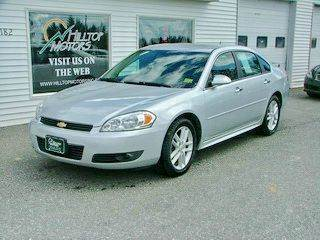 2011 Chevrolet Impala for sale at HILLTOP MOTORS INC in Caribou ME