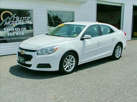 2014 Chevrolet Malibu for sale at HILLTOP MOTORS INC in Caribou ME