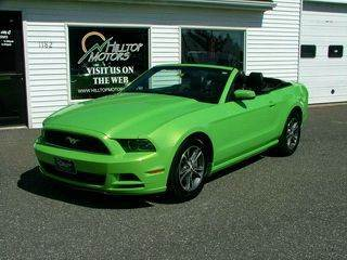 2014 Ford Mustang for sale at HILLTOP MOTORS INC in Caribou ME