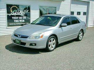 2007 Honda Accord for sale at HILLTOP MOTORS INC in Caribou ME