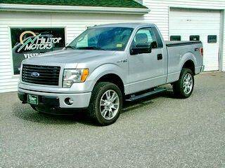 2014 Ford F-150 for sale at HILLTOP MOTORS INC in Caribou ME