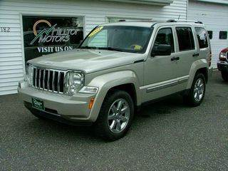2008 Jeep Liberty for sale at HILLTOP MOTORS INC in Caribou ME