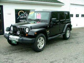 2008 Jeep Wrangler Unlimited for sale at HILLTOP MOTORS INC in Caribou ME