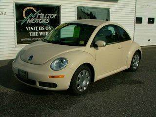 2007 Volkswagen New Beetle for sale at HILLTOP MOTORS INC in Caribou ME