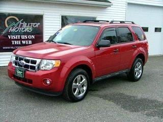 2011 Ford Escape for sale at HILLTOP MOTORS INC in Caribou ME