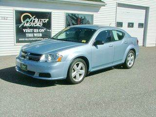 2013 Dodge Avenger for sale at HILLTOP MOTORS INC in Caribou ME