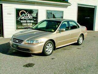 2002 Honda Accord for sale at HILLTOP MOTORS INC in Caribou ME