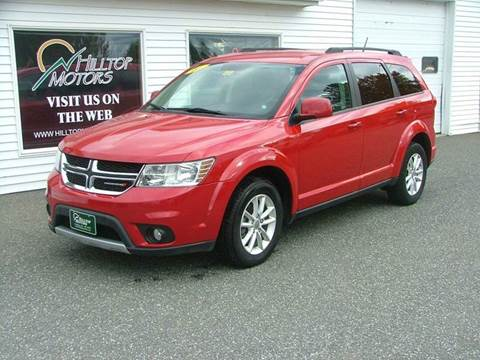 2014 Dodge Journey for sale at HILLTOP MOTORS INC in Caribou ME