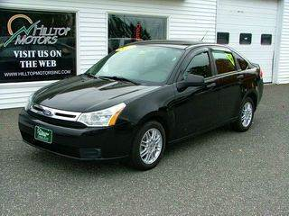 2010 Ford Focus for sale at HILLTOP MOTORS INC in Caribou ME