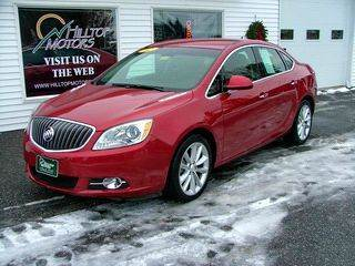 2012 Buick Verano for sale at HILLTOP MOTORS INC in Caribou ME