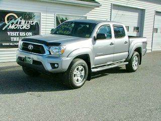 2015 Toyota Tacoma for sale at HILLTOP MOTORS INC in Caribou ME