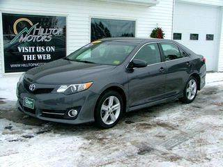 2014 Toyota Camry for sale at HILLTOP MOTORS INC in Caribou ME