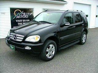 2005 Mercedes-Benz M-Class for sale at HILLTOP MOTORS INC in Caribou ME