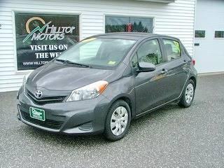 2012 Toyota Yaris for sale at HILLTOP MOTORS INC in Caribou ME