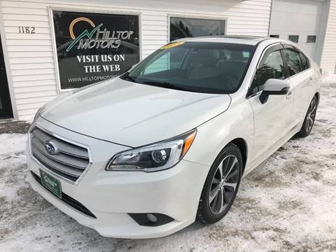 2015 Subaru Legacy for sale at HILLTOP MOTORS INC in Caribou ME