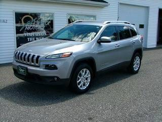 2014 Jeep Cherokee for sale at HILLTOP MOTORS INC in Caribou ME