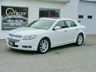2009 Chevrolet Malibu for sale at HILLTOP MOTORS INC in Caribou ME