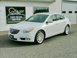 2011 Buick Regal for sale at HILLTOP MOTORS INC in Caribou ME