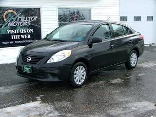 2012 Nissan Versa for sale at HILLTOP MOTORS INC in Caribou ME
