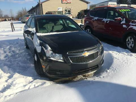 2014 Chevrolet Cruze for sale at B & B CLASSY CARS INC in Almont MI
