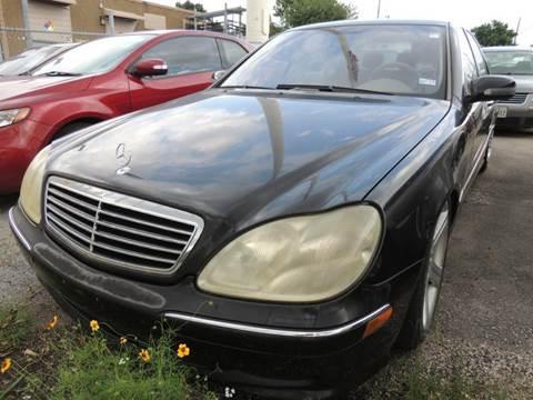 2002 Mercedes-Benz S-Class for sale in San Antonio, TX