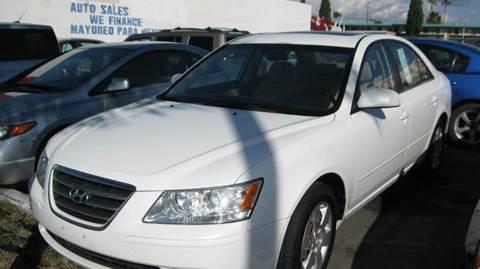 2009 Hyundai Sonata for sale at CABO MOTORS in Chula Vista CA