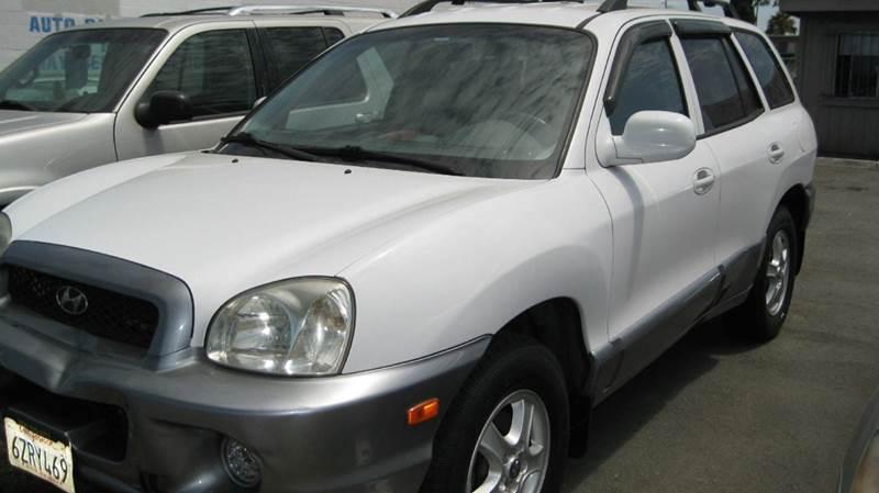 2003 Hyundai Santa Fe for sale at CABO MOTORS in Chula Vista CA