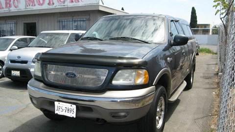 2002 Ford F-150 for sale at CABO MOTORS in Chula Vista CA