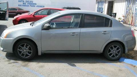 2010 Nissan Sentra for sale at CABO MOTORS in Chula Vista CA